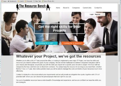 The Resource Bench